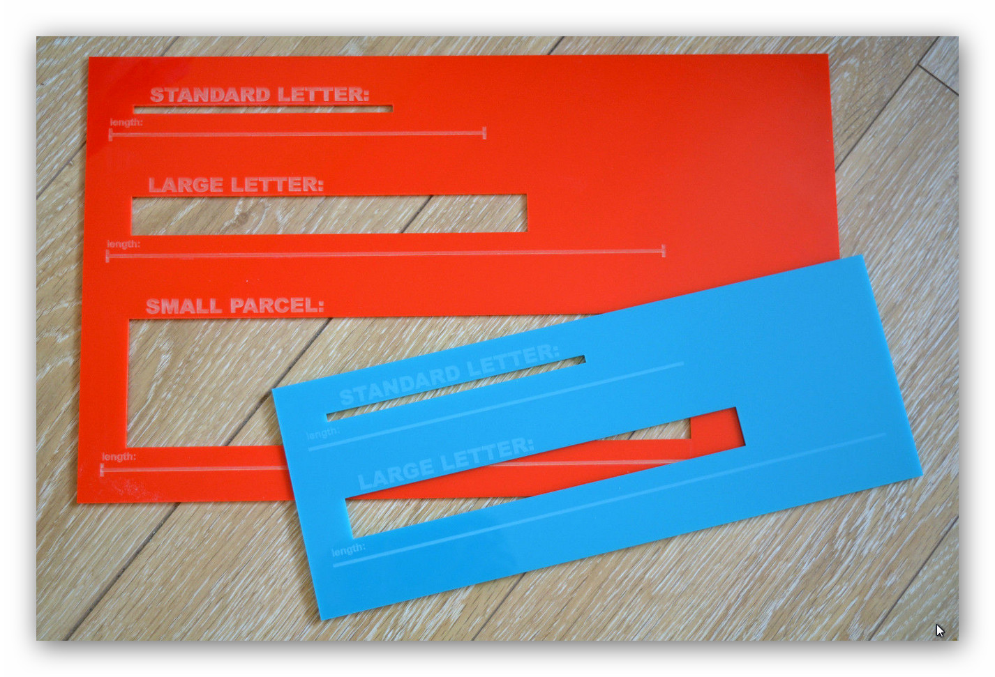 post office letter size guide